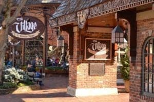 The Village Shops in downtown Gatlinburg.