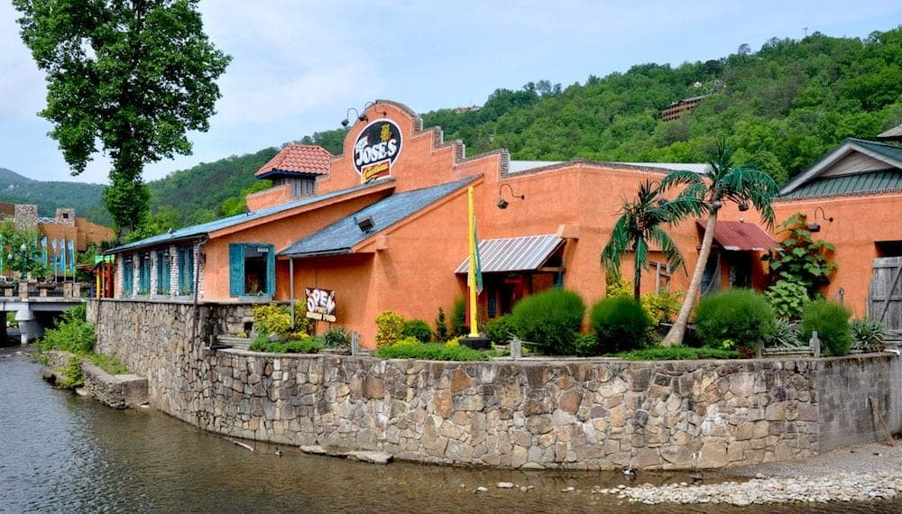 No Way Jose's Cantina in Gatlinburg TN